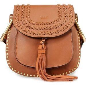 Brown leather Chloe Hudson Shoulder/crossbody Bag